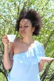 Enjoy the coffee Stock Photos