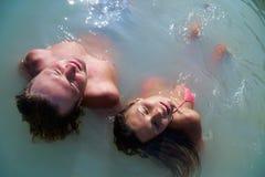 Enjoy couple Stock Image