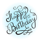 Enjoy creating new ideas handwritten design Royalty Free Stock Photo