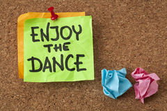 Enjoy the dance Royalty Free Stock Photos