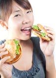 Enjoy eating Stock Photos