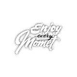 Enjoy every Moment . hand drawn, lettering, Dotwork for design and logos, or other products Stock Photography