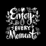 Enjoy every moment Stock Photos
