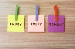 Life Inspirational quote stock photos