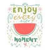 Enjoy every moment. Stock Photos