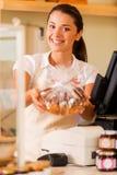 Enjoy fresh cookies! Stock Images