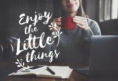 Enjoy Happiness Lifestyle Freedom Fun Concept Stock Photo