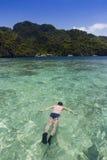 Enjoy idyllic vacation Royalty Free Stock Image