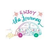 Enjoy the journey. Stock Photography