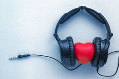 Enjoy listen music Royalty Free Stock Photo