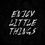Enjoy little things Stock Photos