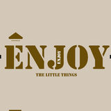 Enjoy The Little Things Royalty Free Stock Image