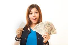 Enjoy money Stock Images