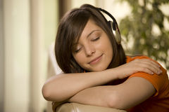 Enjoy the music Stock Photography