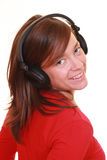 Enjoy music Royalty Free Stock Photography