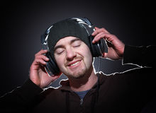 Enjoy the music Royalty Free Stock Photography