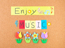 Enjoy music Royalty Free Stock Photos