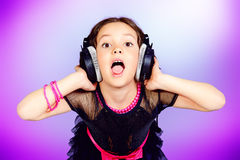 Enjoy music Stock Images