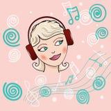 enjoy the music Stock Photo