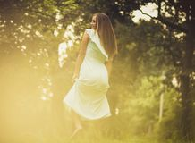 Enjoy in nature royalty free stock photography