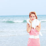 Enjoy the ocean Royalty Free Stock Images