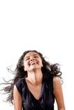 Enjoy Of Beautiful Indian Girl Royalty Free Stock Photos