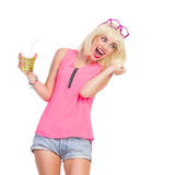 Enjoy the party Stock Photography