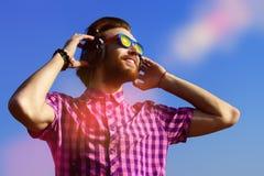 Enjoy radio Stock Image
