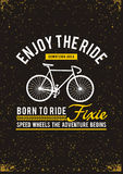Enjoy The Ride downtown area, vector image. Enjoy The Ride downtown area, tshirt graphic vector image vector illustration