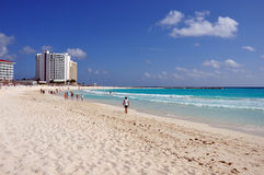 Enjoy the sea in cancun Royalty Free Stock Photography