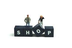 Enjoy shopping stock photography