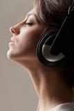 Enjoy singing Stock Images