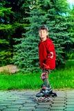 Enjoy skating Royalty Free Stock Photography