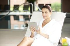 Enjoy spa day Royalty Free Stock Image