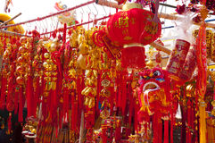 Enjoy Spring Festival Royalty Free Stock Photography