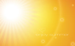 Enjoy summer Royalty Free Stock Image