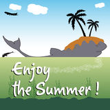 Enjoy the summer Royalty Free Stock Photo