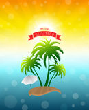 Enjoy summer. Background sample presentation Stock Photos