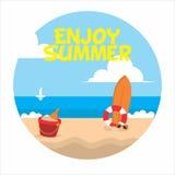 Enjoy Summer royalty free stock photo