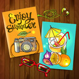 Enjoy summer Royalty Free Stock Photos