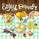 Enjoy summer Stock Images