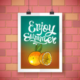 Enjoy summer Stock Photo