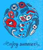 Enjoy summer Stock Images