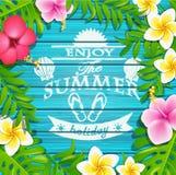 Enjoy the summer holiday. Stock Image