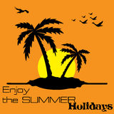Enjoy the summer holidays Stock Photo