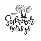 Enjoy Summer Holidays Royalty Free Stock Image