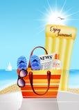 Enjoy summer Royalty Free Stock Photos