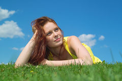 Enjoy summer time Royalty Free Stock Photography