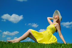Enjoy summer time Stock Photography