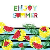 Enjoy summer time Royalty Free Stock Photos